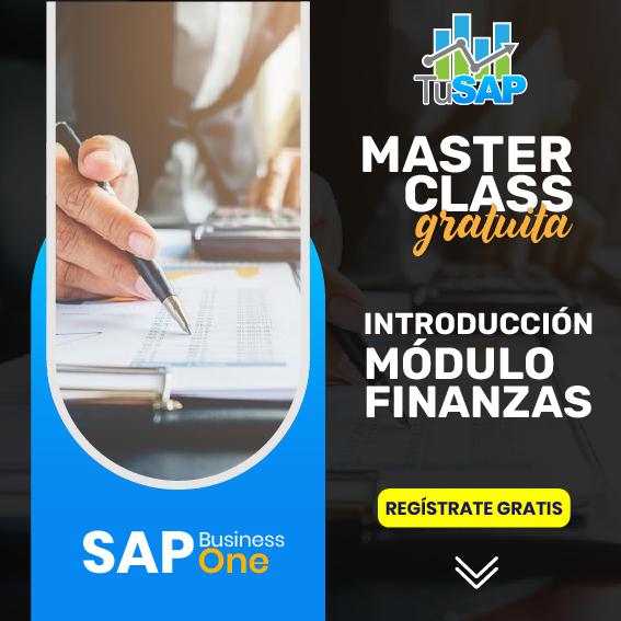 Curso de introducción a finanzas SAP business One