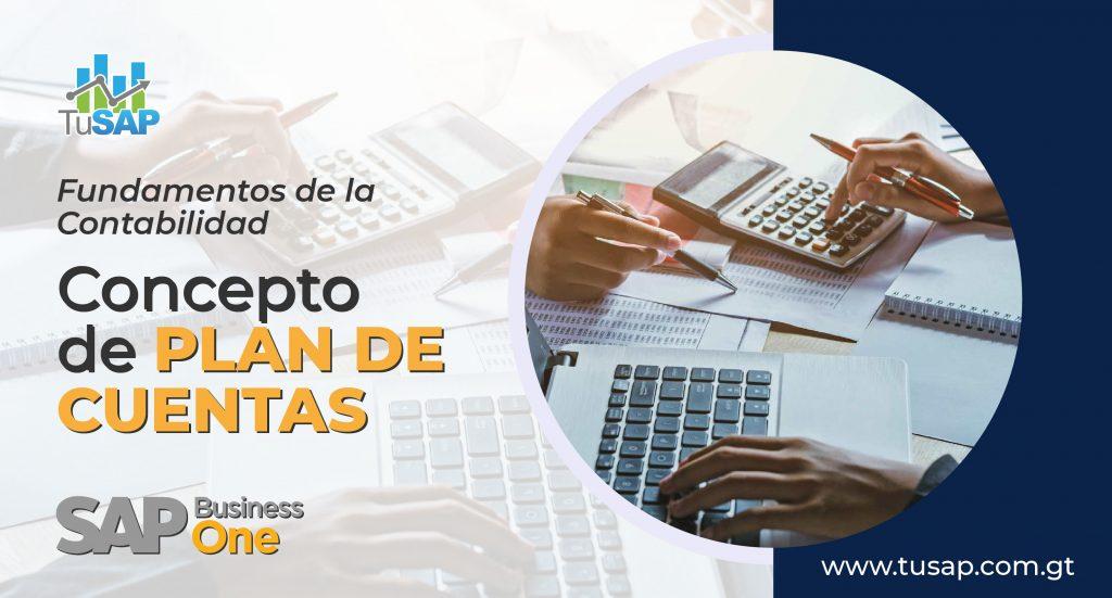 Fundamientos de contabilidad de plan de cuentas de SAP Business One