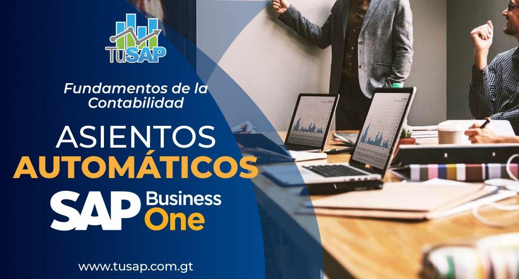 Asientos contables en SAP Business ONE
